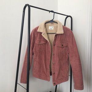 3/60$ Zara kid corduroy pink jacket